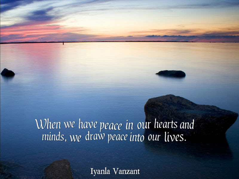 Iyanla Vanzant Quote About Peace Awesome Quotes About Life