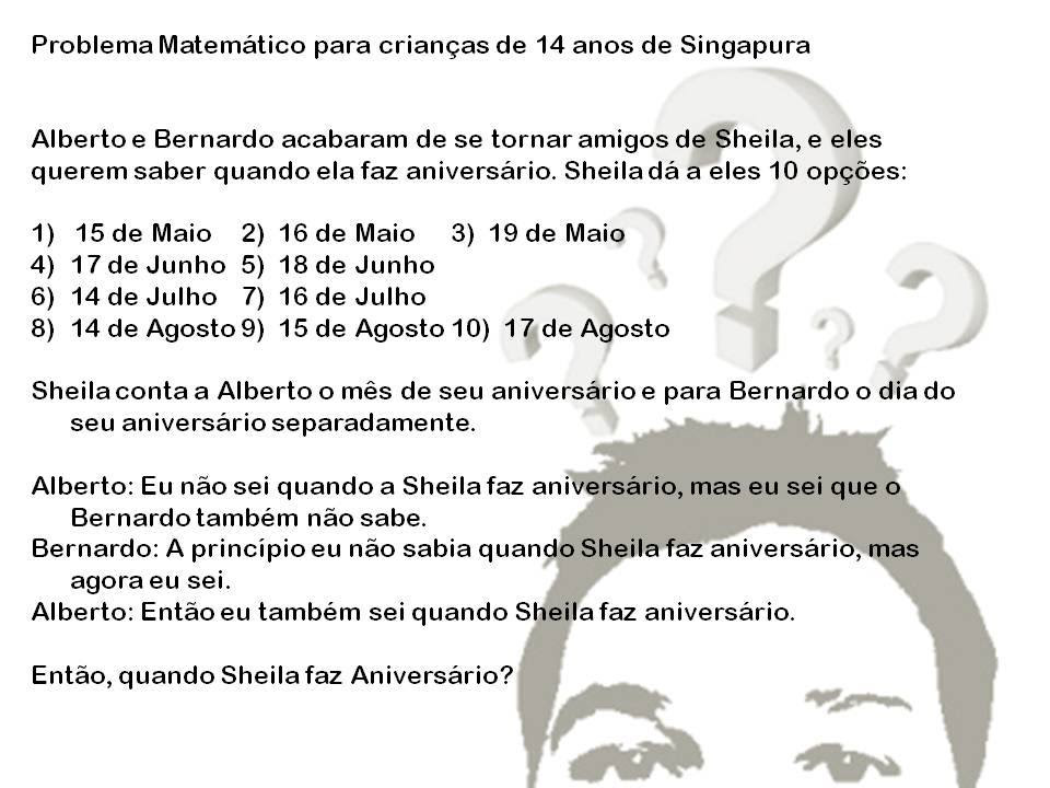 Voce Consegue Resolver O Problema De Matematica Para Criancas De Singapura Que Viralizou Na Rede Diario Dos Papais
