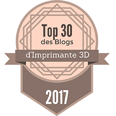 Top 30 des Blogs d'imprimante 3D 2017