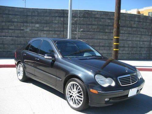 Buy used 2003 Mercedes-Benz C230 Kompressor Sedan 4-Door 1.8L in West Hills, California, United ...