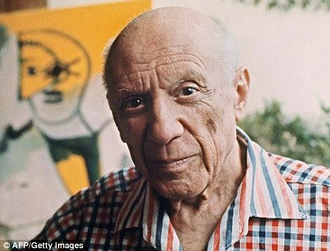 Picasso Gunakan Cat Tembok Untuk Melukis
