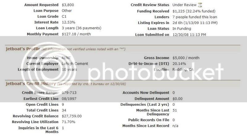 loan info
