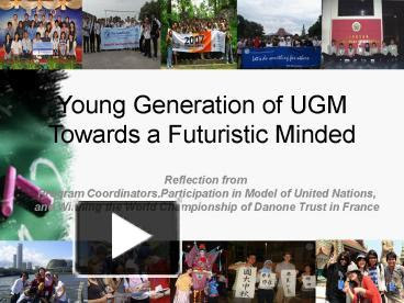 Ppt Gadjah Mada University Powerpoint Presentation Free To View Id 280949 Mjc3n