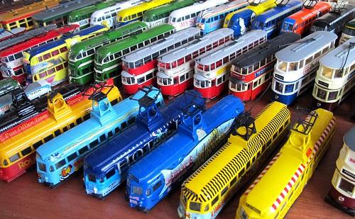 Diecast Trams