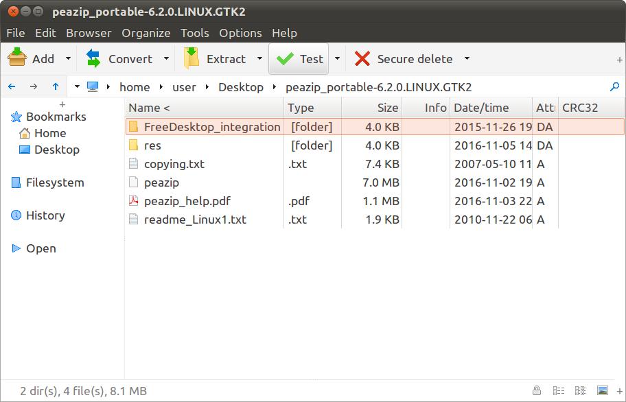 Extract Rar files, free Zip Unzip software