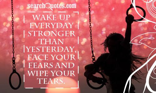 Im Stronger Than Yesterday Quotes Quotations Sayings 2019