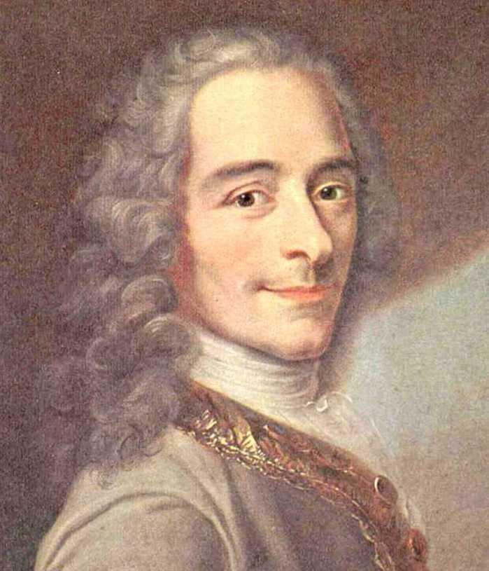 Voltaire François Marie Arouet 1694 1778 Só Filosofia