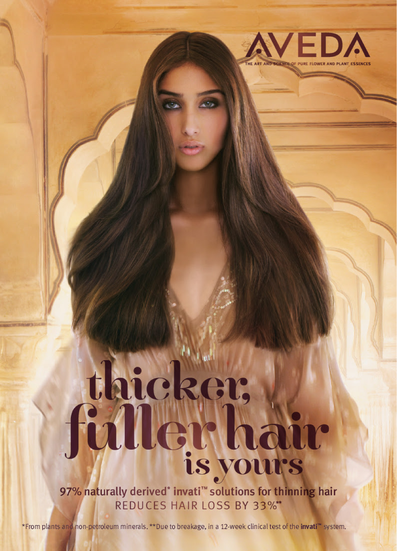 Aveda: la linea Invati per ridurre la perdita di capelli e ...