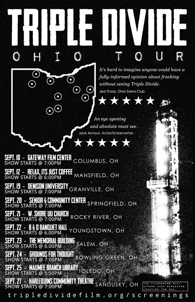 Ohio Triple Divide Tour.