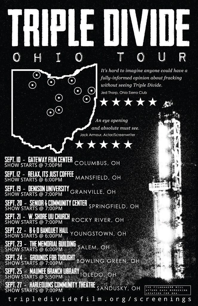Ohio Triple Divide Tour.