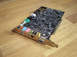 English: Photo of a SoundBlaster Audigy 2 ZS (...