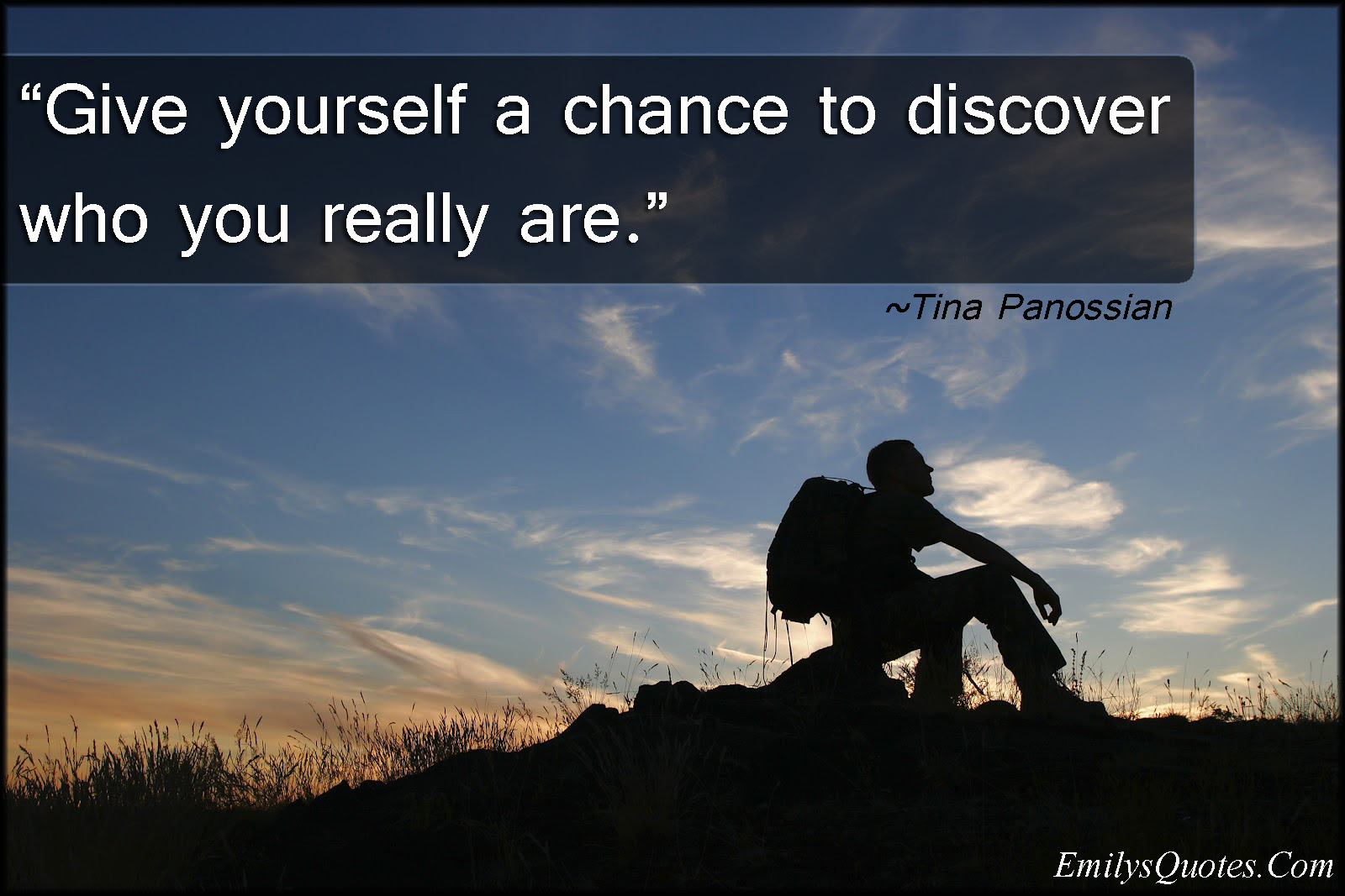 Give Yourself A Chance To Discover Who You Really Are Popular