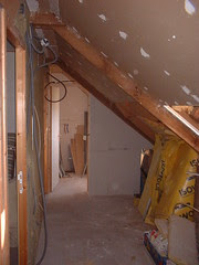'New upstairs bathroom