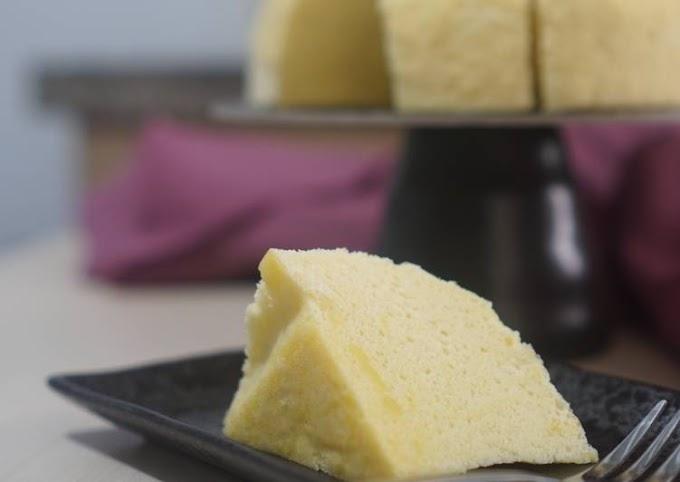 Cara Praktis Memasak Steamed Rice Cake (Gluten Free) Cita Rasa Tinggi