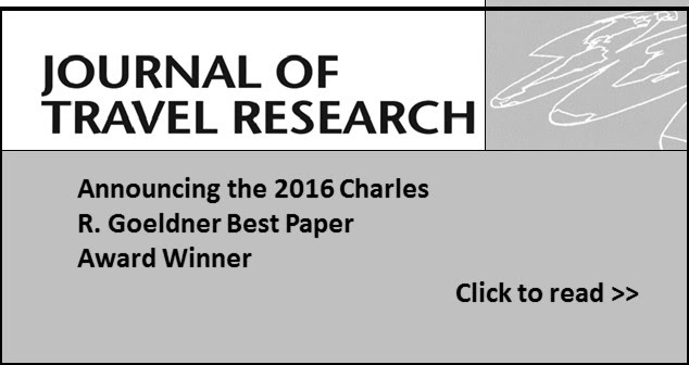 Journal of Travel Research: SAGE Journals