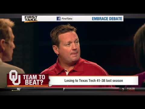 ESPN First Take: Bob Stoops and Landry Jones