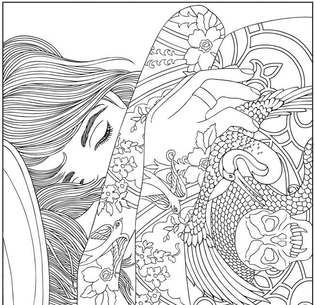 Awesome Coloring Books For Adults