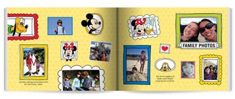disney themed photo books  shutterfly  fairy