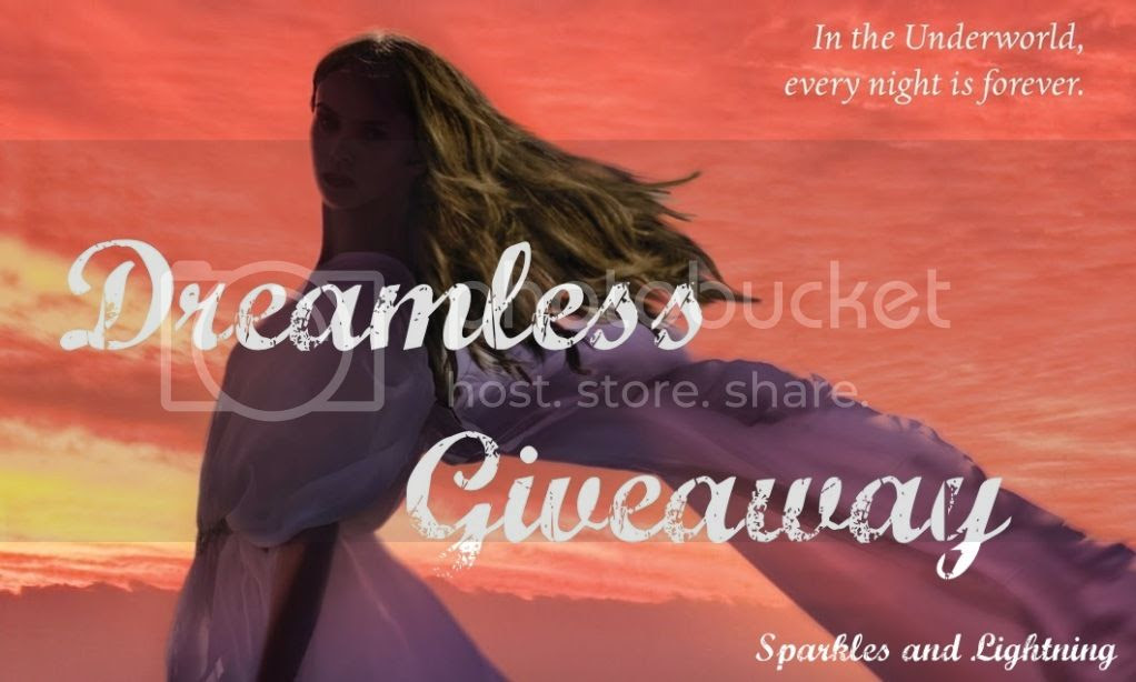 Sparkles and Lightning Dreamless Giveaway