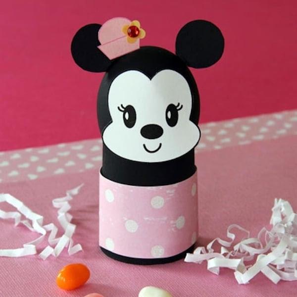 Huevo decorado con Minnie