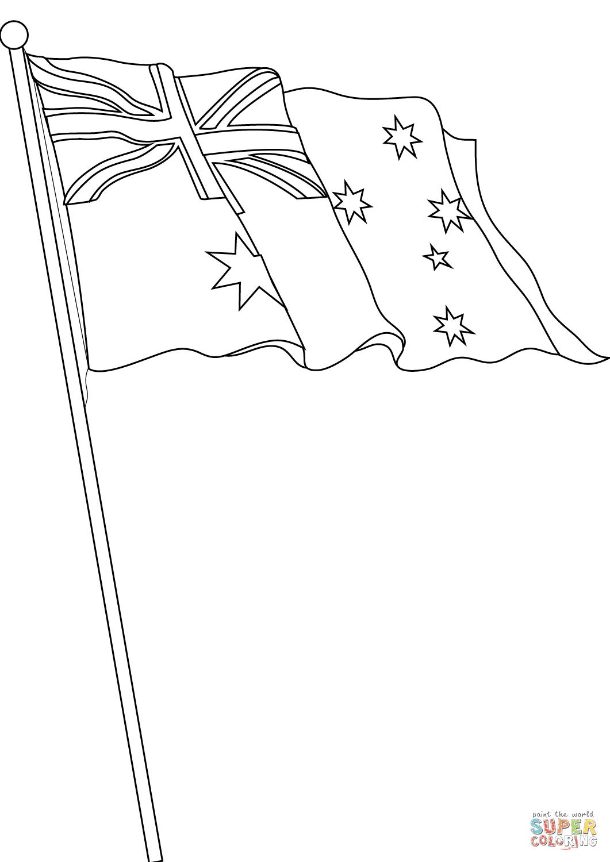 vlag australie kleurplaat krijg duizenden kleurenfoto s