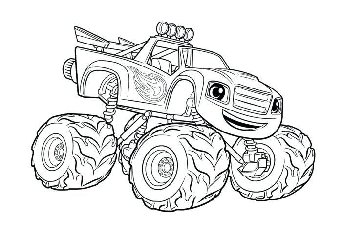 Monster Trucks Drawing at GetDrawings | Free download