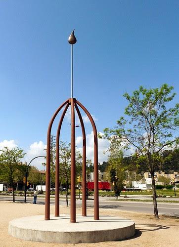 Monument als Donants de Sang de Sarrià de Ter
