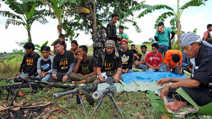 Philippinen Armee Moro islamische Befreiungsfront (AP)