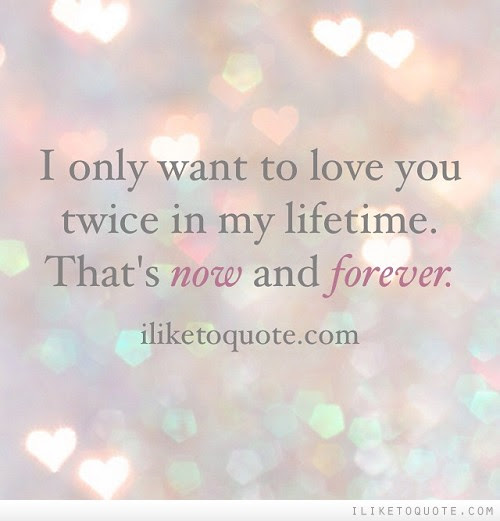 I Just Want To Love You Forever Quotes