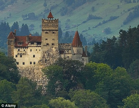 Mysterious: Bran Castle, home of Vlad the Impaler