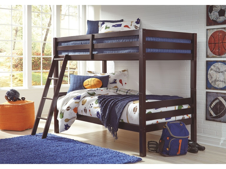 Signature Design By Ashley Bedroom Twintwin Bunk Bed Wladder B328