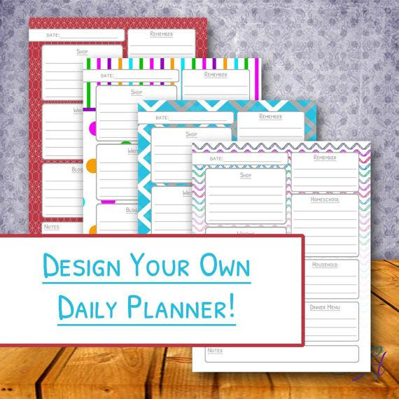 1000+ images about Planner Printable on Pinterest | Printable ...