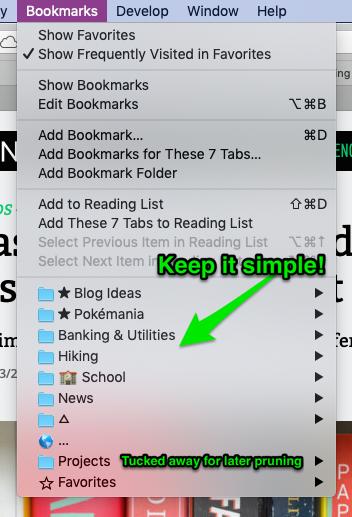 Nice & Tidy Browser Tabs