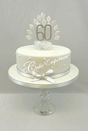 60th Anniversary 60th Birthday Swarovski Crystal Cake