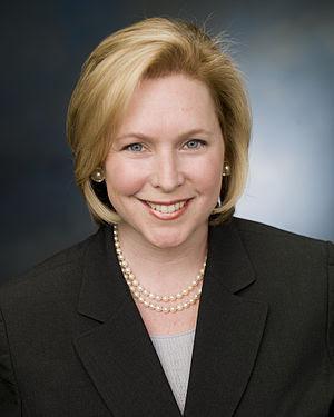 Official photo of Senator Kirsten Gillibrand (...