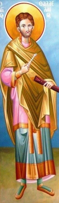 IMG ST. THALELAEUS, Thallelaios, Selfless Physician