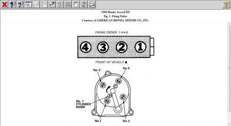 Distributor Firing Order: Four Cylinder Front Wheel Drive ...