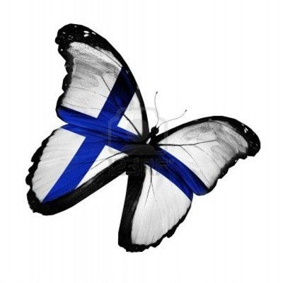 Finnish butterfly