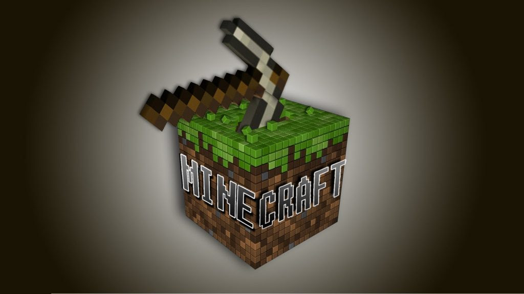 Download Minecraft Logo Wallpaper | MinecraftGames.co.uk