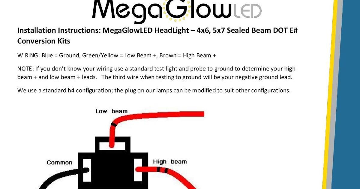 Sealed Beam Wiring