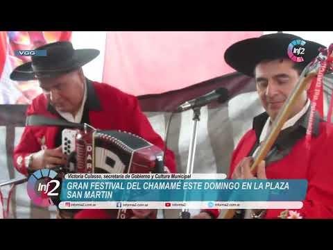 Invitan a un Festival de Chamamé