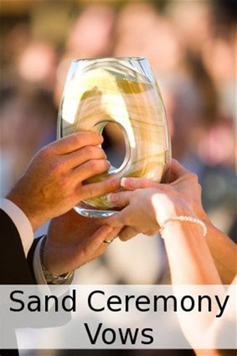 This site has a few different sand ceremony ideas I like