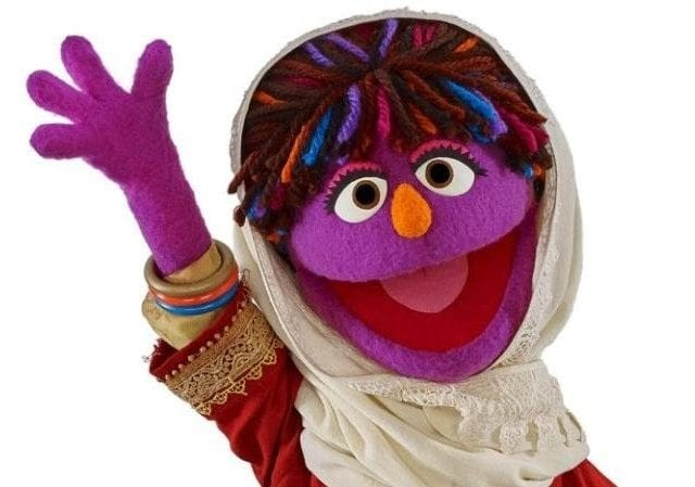 Boggart Abroad Sesame Street New Hijab Clad Muppet Zari Is A Feminist From Afghanistan