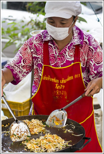 Cooking Phad Thai