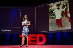 Geena Rocero at a TED talk