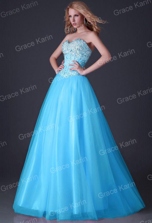 Evening dress for ball