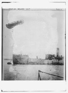 Title: British Balloon ship Creator(s): Bain News Service, publisher Date Created/Published: [between ca. 1910 and ca. 1915]