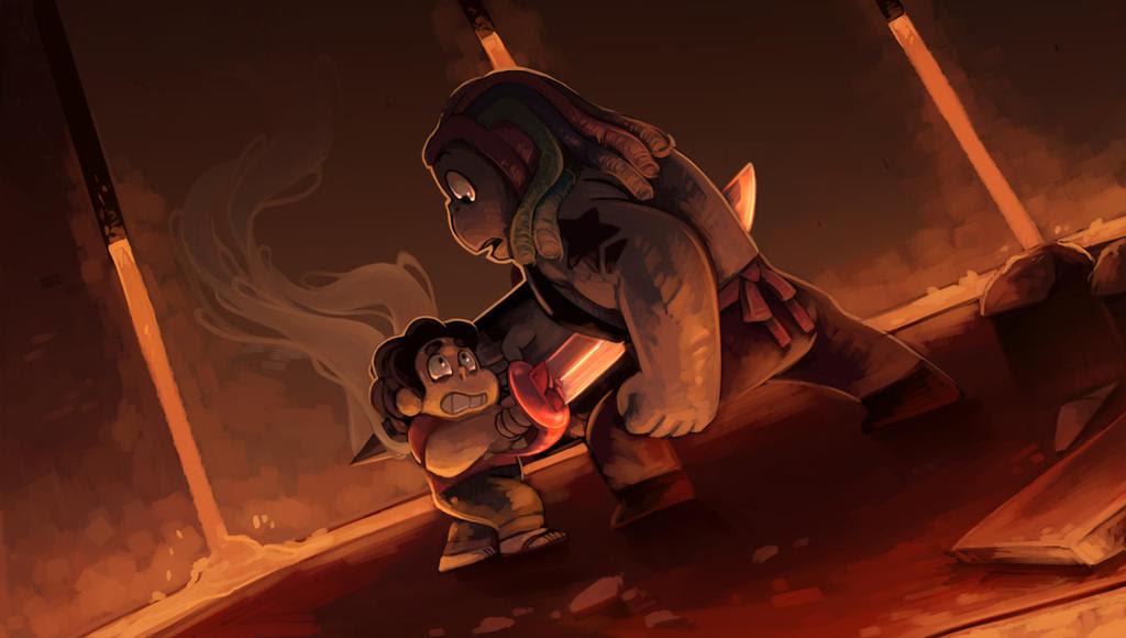 Steven Universe Paintover - Bismuth