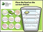 Food Games - Stack the Fridge Game