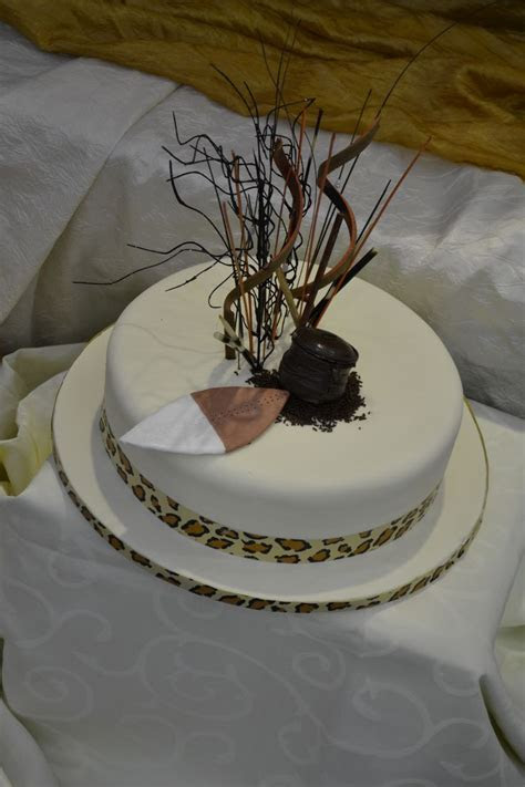Wedding cake   South African traditional wedding
